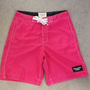 Abercrombie and Fitch swim shorts, trunks medium.